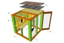 Free Chicken Coop Plans / Easy to follow plans and instructions for you to build a chicken coop - Free Chicken Coop Plans of different sizes