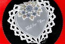 pergamen: szívek