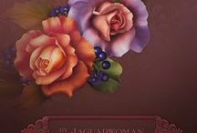 barnali bagchi: színes virágok , keretek