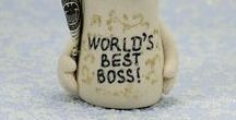 Boss gift / Happy Boss's Day Funny, Gift for Boss, Worlds Best Boss, Office Gifts, Custom Gifts for Men, Coworker Gift, Manager, Entrepreneur