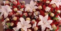 dekoráció: csokival