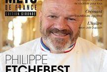 Une de couv des magazines Gourmets de France / retrouvez les différentes une de couverture des précédents numéros de Gourmets de France