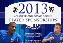 2013 Player Sponsors / A special thanks goes out to all our fans and companies that have purchased a player sponsorship. To purchase a player sponsorship please call 440.499.4225 / online http://www.shop-afccleveland.com/product-p/711.htm
