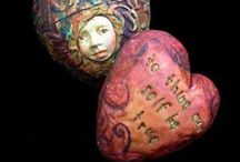 Polymer clay / by Roz Miles, HolistixWellnes.....Start Each Day With A Greatful Heart.