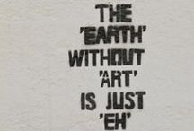 Artful words. / We couldn't have said it better ourselves.