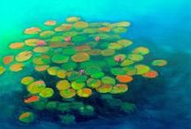 Nature Art / Plants, florals, trees - some our favorite works include hints of of the natural world.