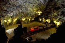 Postojna cave, Slovenia / The largest cave of the classical Karst and the most popular cave in Europe. A trip to Slovenia's number 1 tourist attraction must be part of every tour to Slovenia.