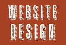 Website Design / Inspiring designs that intrigued us.