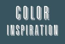 Color Inspiration / Color matters, and choosing the right ones matter even more.