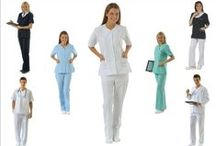 NURSE & DOCTOR UNIFORMS / CLASSIC & STYLISH NURSE AND DOCTOR UNIFORMS MADE FROM HIGH QUALITY ALPACA FABRIC