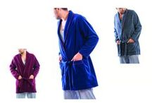 DRESSING GOWNS / %100 POLAR EASY-TO-WEAR WARM DRESSING GOWNS
