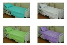 BED SHEET SETS / %100 COTTON PLAIN COLOR AND PATTERNED BED SHEET SETS WITH 62 THREAD PER CM2  (400 TC)