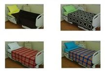 BLANKETS / WOOLEN/ACRYLIC BLANKETS WITH PLAIN COLORS, CHECKED AND SCOTCH PATTERNS TO COLOR HOSPITALS