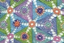    crochet patterns    / Patterns I find beautiful or would like to make at some point...