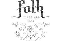 » festival designs / More than music. Eye pleasing festival design.