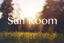 Sunroom Art / Art perfect for your sunniest, coziest, brightest happiest home.