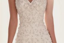Beautiful white dresses