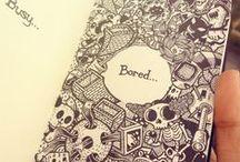 » illustration / Creativity is intelligence having fun.