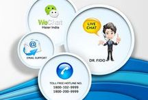 Customer's Corner / Haier is also available on WeChat