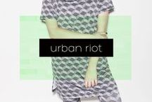 / Urban Riot / / Collection Fall / Winter 2014 Amy Gee