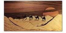 Marquetry art by me / My name is Andulino and here you can see my main profile, Marquetry picture of wood. Everything you can see it's all wooden! I hope you enjoy my work! :)