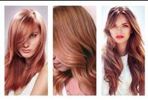 HAIR COLOR TREND : ROSE GOLD