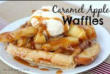 Waffles / Recipes for the Waffle Maker