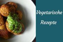 Rezepte für vegetarische Gerichte. / Vegetarische Rezepte, bei denen kein Fleisch vermisst wird.
