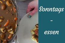 Rezepte für Sonntagsessen / Rezepte für leckere Sonntagsgerichte, auf die man sich schon die ganze Woche freut.