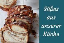Rezepte für Süßes aus der Küche / Esst ihr auch so gerne Süßes wie wir? Wir hätten ein paar Super Rezepte für euch.