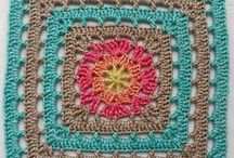    Friends around the World 2015/16 CAL    / Mystery CAL created by the Facebook group CAL - crochet along to celebrate 1st year anniversary. The CAL consists of 24 squares by different designers that will eventually be an afghan...