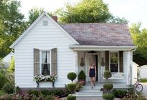 Farmhouse and Farm Life / I have this fantasy (now a reality! Just bought a property Jan 2018) about buying a small, inexpensive farmhouse in my home state of Oklahoma and moving back there someday, growing all my own vegetables and herbs, and enjoying the peace and quiet.