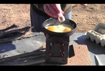 Wood Cooking / All kinds of cooking over a real wood fire! Campfire cooking, Open Fire Cooking or Wood burning camp stove cooking! Grilling, Boiling, Baking and Roasting all tastes better over a real wood fire!