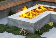 fire in landscape design