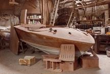 Poncelet Wooden Boats - Bateaux en bois - Houten boten