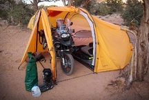 Motorcycle/Bicycle Touring/Camping / Camping ideas for Motorcycle camping or Bicycle camping or touring.