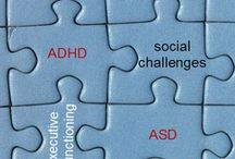 """Comorbidities and ADHD / Many medical and psychiatric conditions have similar symptoms to ADHD. It is also common for someone with ADHD to have 1 or more Co-existing or Comorbid disorders such as: Learning Disabilities, Speech Disorders, Sleeping Disorders, Oppositional Defiance Disorder, Conduct Disorder, Anxiety, Depression, OCD, Substance or Process Abuse, Bipolar Disorder, Autism Spectrum Disorder...Note: Always contact a professional if you feel the results of on-line """"tests"""" warrant further investigation."""
