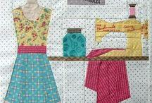 Cosiendo. / Pequeños proyectos para realizar cosiendo con máquina , moldes y tutoriales. / by Esther Vargas