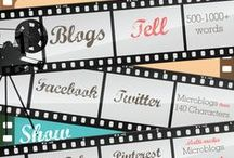 Social Media Tips / Building your presence on line using social media