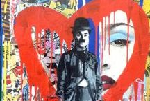 Graffiti / Collection of subversive and illicit urban art.