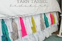 camas cortinas tecidos / Colchas Mantas Cortinas