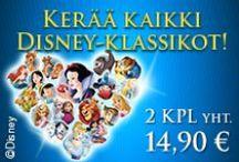 Disney-Klassikot / Vuonna 2015 ilmestyy joka viikko yksi rakastetuista Disney-klassikoista. Kerää koko sarja omaksesi huippuedullisesti, 2 DVD:tä vain 14,90 €!