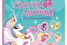 My Little Pony / Ihanimmat My Little Pony -tuotteet. Leluja, kirjoja, pelejä...
