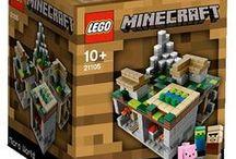Minecraft / Minecraft aiheiset kirjat, lelut ja LEGO-pakkaukset