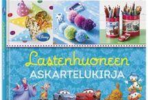 Lasten tietokirjoja / Lasten tietokirjoista voi oppia kaikenlaista. Kirjoja eläimistä, luonnosta ja vinkkejä askarteluun ja kokkailuun.