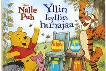 Nalle Puh | Winnie the Pooh / Suloiset Nalle Puh -kirjat, elokuvat, lelut ja tekstiilit