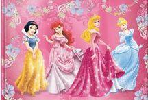 Disney Prinsessat | Disney Princess / Lumoavat prinsessakirjat, suloisimmat lelut ja ihanat tekstiilit pienille prinsessoille