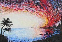california dreamin' / abstract works by joshua d. niedermeier friday october 2, 2015 - saturday october 31 2015