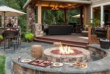 Amazing Backyards & Patios / Some of the best home backyards and custom patios for inspiration!