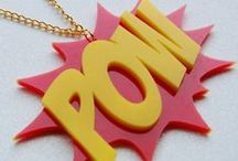 Comic Book Jewelry and Gifts / DC comics, Marvel comics, and more! Jewelry, fashion, accessories, and gift ideas